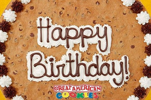 Great American Cookie Birthday Cookie Cake